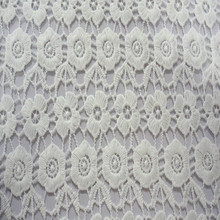 2015 flower pattern chemical lace embroidery fabric embroidery lace fabric for woman' s dress or garment