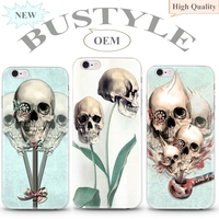 2015 Hot Selling Horror Style Pattern Custom Hard Plastic Case for Apple iPhone 5s 6 6s plus in Alibaba