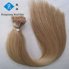 wholesale price 100% human remy virgin hair extension pre bonded i tip hair