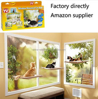 Factory directly window mounted cat bed,Amazon supplier