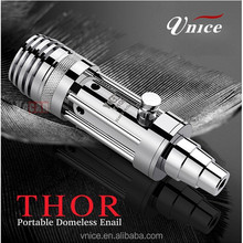 glass hookah e nail yocan thor , best wickless atomizer ecig yocan thor