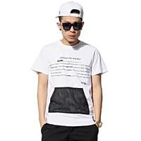 2015 Nelly new design cut and sew t-shirt custom high quality custom t-shirt men's clothing