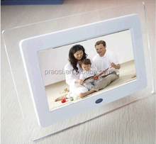Video,MP3,picture playback functions 7 inch digital picture frame with lcd screen