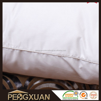 white comfortable airline or hotel bedding cushion pillow/ hospital pillow and nursing pillow