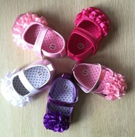 ew Girls Kids Sweet Newborn Baby Shoes Canvas Mary Janes Polka Bow Prewalker Shoes Princess Ballet Dress Shoes