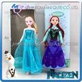 Mini Qute al por mayor Kawaii Juguete articulado muñeca Frozen dibujos princesa Anna y Elsa Olaf chicas con Olaf para chicos