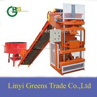 SY1-10 full automatic mud/clay/earth block making machine