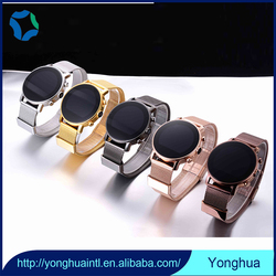 Anti-lost and remote shutter touch screen wrist watch phone