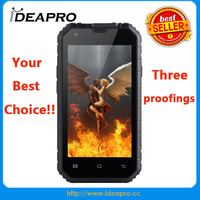 China mobile phone manufactory cheapest 4.5 inch three proofings Android phone