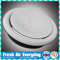 galvanized steel air vent supply exhaust air disc valve