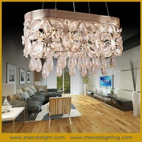 Modern luxury style LED Ceiling Lamp & crystal chandelier