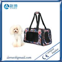 New fashion lightweight fabric pet carrier bag