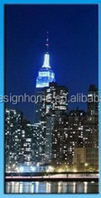 Hot sale LED Lights Canvas Print Picture of buildings