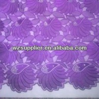 2013 african lace fabric/african fashion lace/african lace trimming