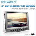 feelworld novo 5 polegadas hdmi pequeno monitor de lcd com funções completas para fotografia a5