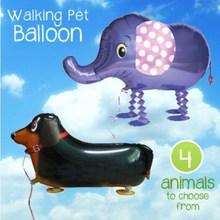 Adorable Walking Pet Balloons / walking animal balloons / Foil balloons