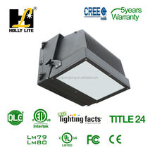 Hot Selling UL and DLC led outdoor wall light , 5 years warranty , 120w