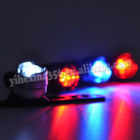 New Waterproof Mini Bike Bicycly Rear Light And Front Safety Lights With Super-Bright LED