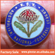 China Factory Supplier Top Quality Football League Custom Lapel Pins