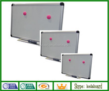 School and Office White Magnetic Board with pen tray