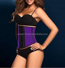 Women's Faja perfect latex waist trainer cincher steel boned corset