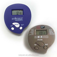 Wholesale Precise pedometer manual with Carlories burned heart shape