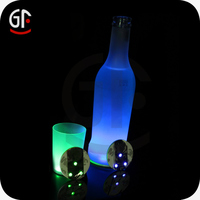 Gift Item 2015 Low Price Bottle Led Light Win Coasters