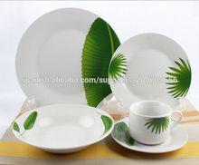 20pcs conjunto de cena de cerámica