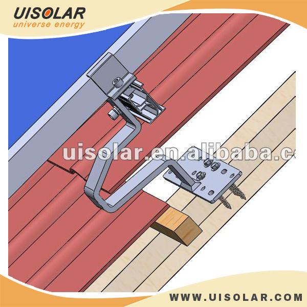 Stainless Steel Solar Panel Roof Hook For Tile Roof Solar