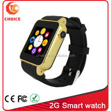 2015 Promotional price for bluetooth 2g low cost watch mobile phone with FM radio s69