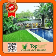 waterproof grass artificial used for swimming pool decorative turf grass
