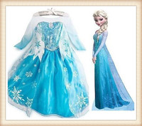 frozen elsa dress,frozen dress,elsa dress cosplay costume in frozen