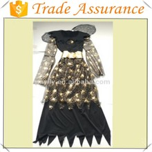 hot sale new halloween queen witch costume ,Halloween costume with wing