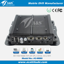 DVR 8 Channel, Car Black Box with optional GPS 3G Wifi