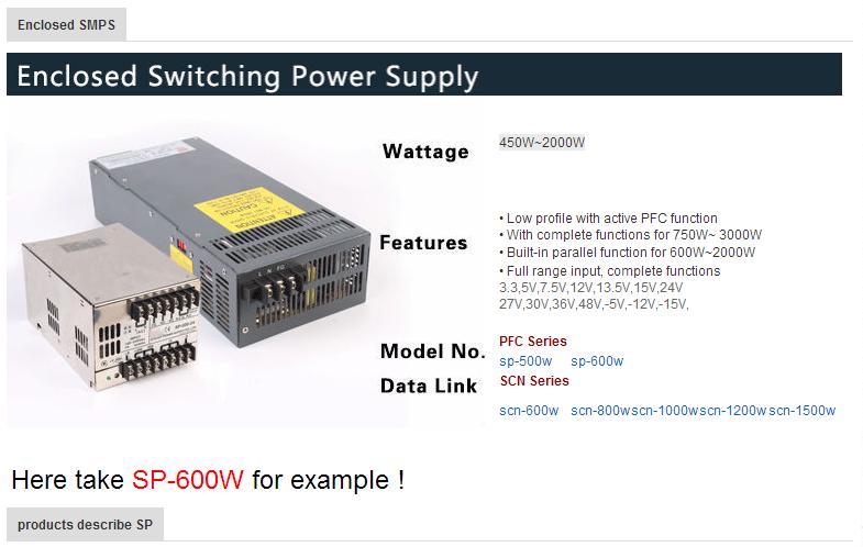 600w Led Psu 12 Volt 50amp Universal Power Supply 12v 50a Switching ...