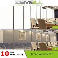 ZSMELL heat resistant solar window film, self-adhesive window tint film for auto