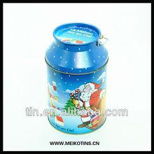 Irretangular Milk tin can with handle