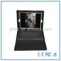 2013 latest keyboard mould genuine leather case keyboard for ipad keyboard