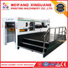 XMQ-1050S auto easy operation flatbed creasing good carton die cutting machine