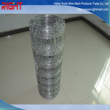 Top Selling Good Price Electro Galvanized Cattle Fence For Breeding Of Horses