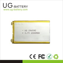 Lithium Rechargeable 3.7v Battery Li-ion 2000mAh Recharge Battery