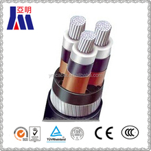 XLPE insulated and pvc sheathed aluminum armoured overhead power cable