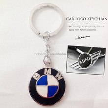Custom Zinc Alloy Metal Car Logo Keychain,Car key metal keychain