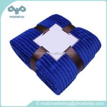 Amazing Blue Color Plain Blanket Pillow for Household