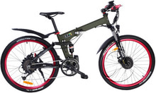 36V/250W bruhsless motor/Dual disc brakes folding electric bike