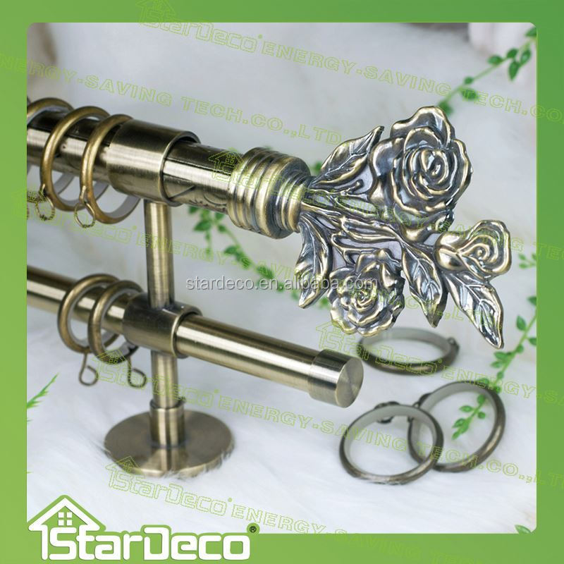 Z168 Metal Painted Whosales Decorative Curtain Rod Curtain Rod Rings Buy Whosales Decorative