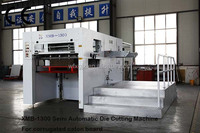 Direct Factory XMB-1300 semi automatic die cutting creasing machine