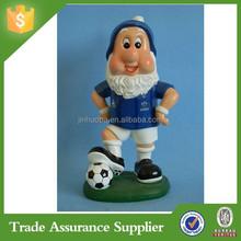 Polyresin sports gnome figurine