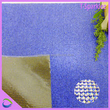 sapphire 2mm crystal strass mesh appreal attachment and garment accessories 24*40cm