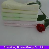 High quality 100% bamboo fiber soft face towel